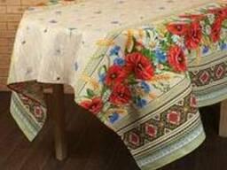 Скатерти, полотенца в украинском стиле, хлопок - фото 5