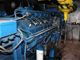 Б/У газовый двигатель MWM TBG 604-V-12, 1988 г. , 590 Квт - photo 3
