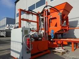 Блок машина для производства тротуарной плитки, бордюров R30 - photo 4