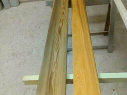 Board of larch. Raised from the bottom of the river in Russi - photo 3