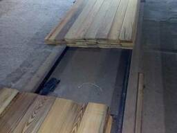 Board of larch. Raised from the bottom of the river in Russi - photo 5