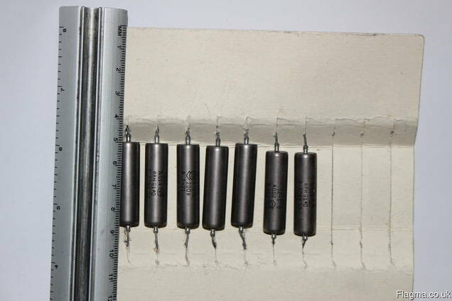 Capacitor k40u-9 audio capacitors paper oil / nos / tested