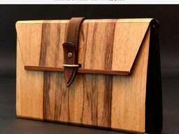 Clutches of wood / клатчи из дерева - photo 3