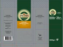 Jacobs coffee for export