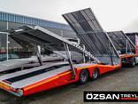 2 axle 6 Car carrier Semi-trailer new - photo 2