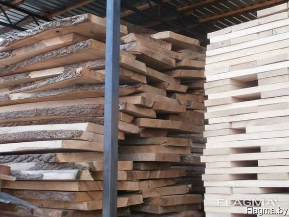 Oak, beech, ash technical drying board 8-10%