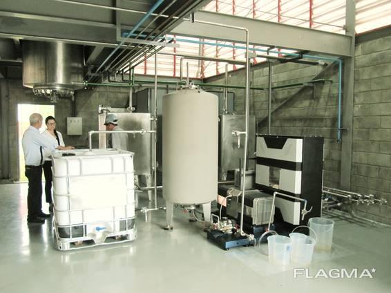 Биодизельный завод CTS, 10-20 т/день (автомат), сырье животный жир