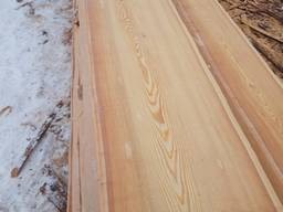 Siberisn larch, not edged (quality 0-1), and edged sawntimber(quality 1-4).