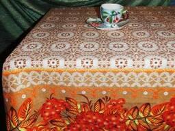 Скатерти, полотенца в украинском стиле, хлопок - фото 2