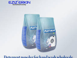 Washing powder PLATINUM for hand wash