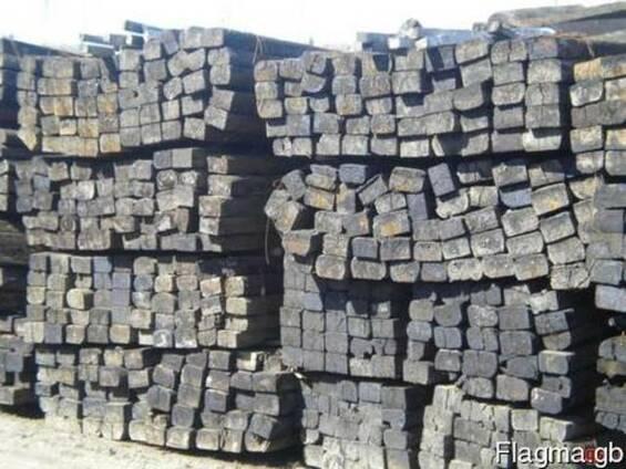 Used Wood railway sleepers