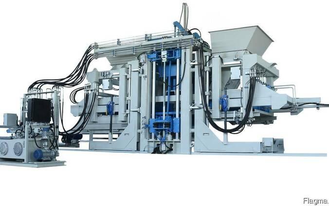 Блок-машина для производства тротуарной плитки R-500 Эконом