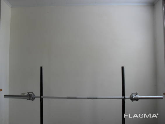 Weight bar for powerlifting and weightlifting