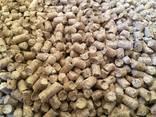 Wood fuel pellets, 6mm - photo 1