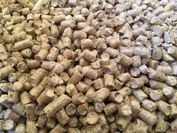Wood fuel pellets, 6mm